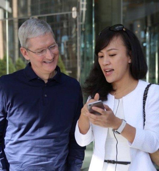 Tim Cook Visit China