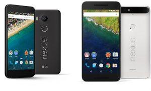 Nexus 5x & 6p Front Image