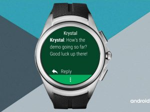 Message Reading On Android Wear 2.0 Wear