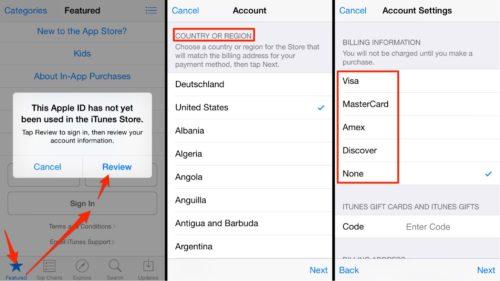Apple App Store Changing Method