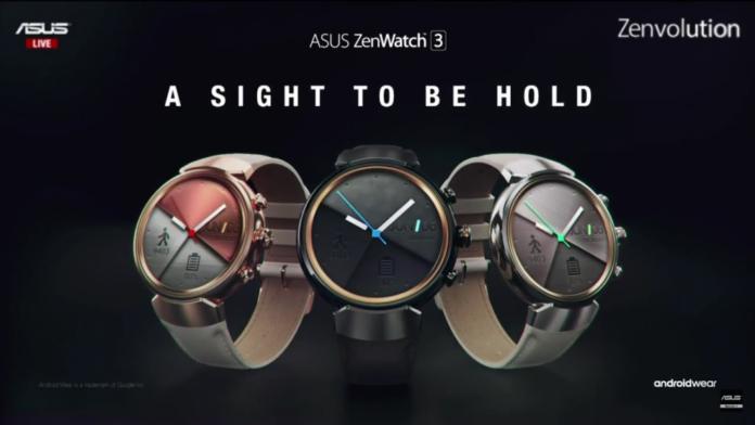 Asus ZenWatch3 Color