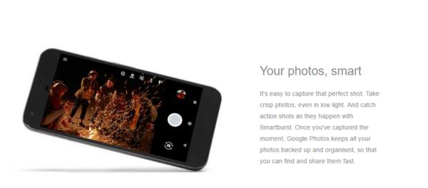 Camera of Google Pixel