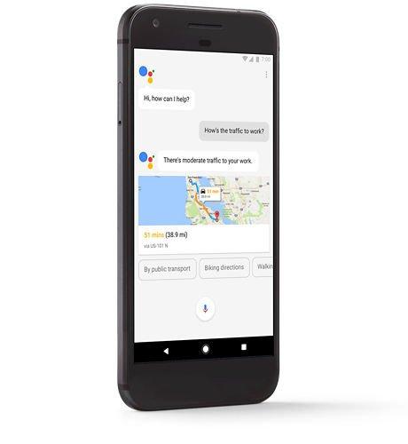 Google Assisstant in Pixel