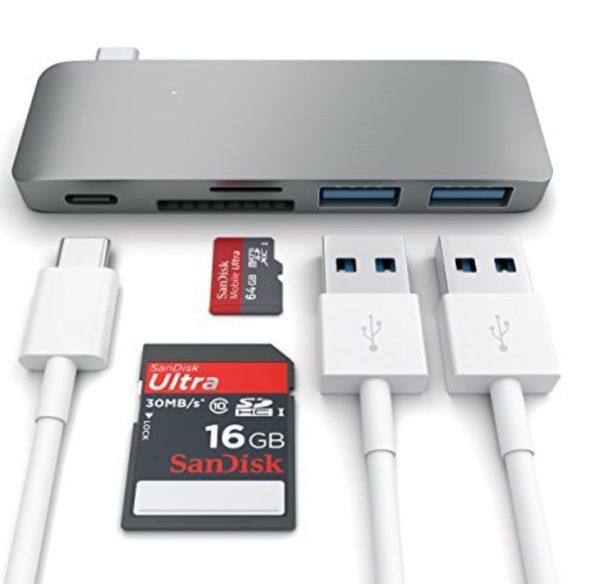 Satechi Type-C USB 3.0 3 in 1 Combo Hub