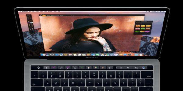 Pixelmator App In MacBook Pro TouchBar