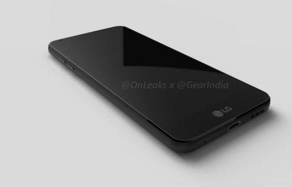 LG G6 3d Render Image