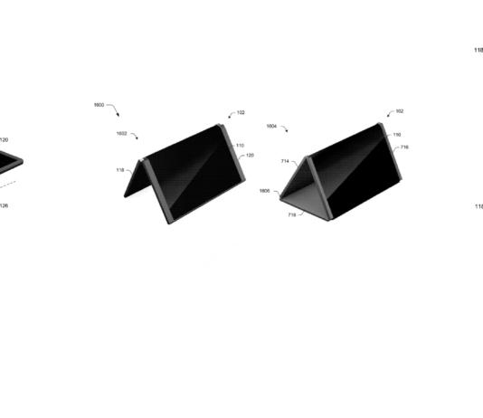 Microsoft Foldable Patent