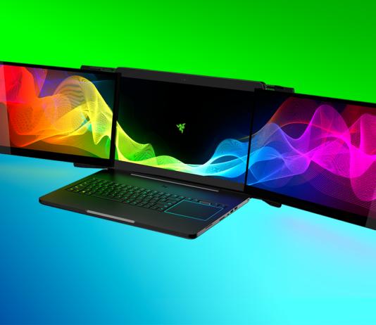 Razer's New Gaming Laptop With Three Display