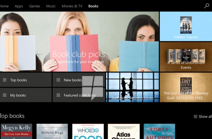 Windows 10 Book Store Releasing Soon