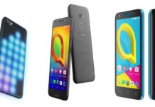Alcatel U5, A3 And A5 LED