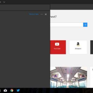 Edge Browser Creators Update