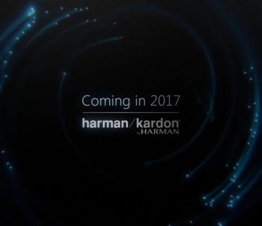 Cortana Powered Speaker, Microsoft's Cortana Based Speaker, Cortana Voice Activated Speaker, Harman Kardon Voice Activated Speaker, Harman Kardon's Cortana Powered Connected Speaker