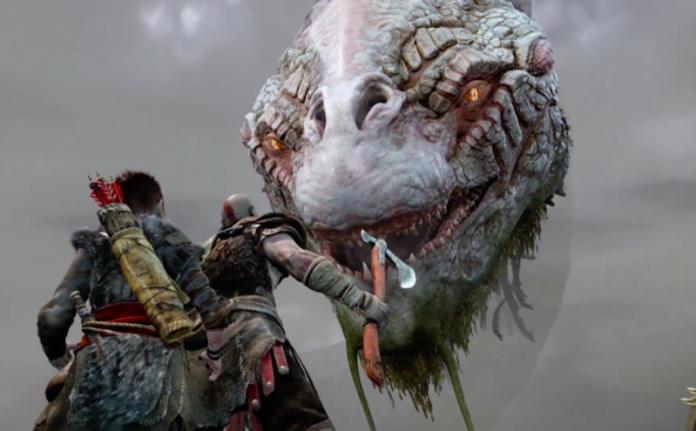 God Of War 2017 Gameplay