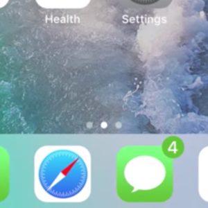 iOS 11 Concept Notification Dots Concept
