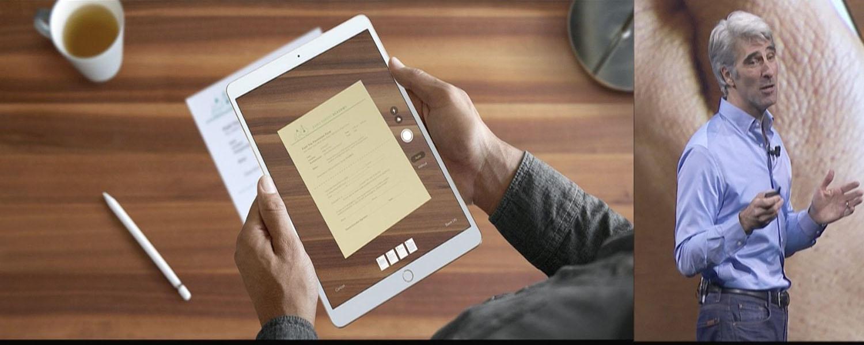 iOS 11 iPad Note App Feature