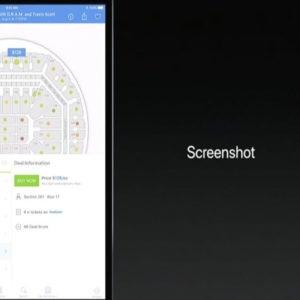 iOS 11 iPad Screenshots Feature