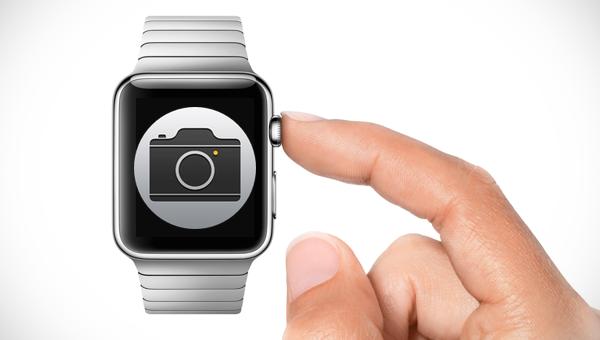 Apple Watch Using Camera