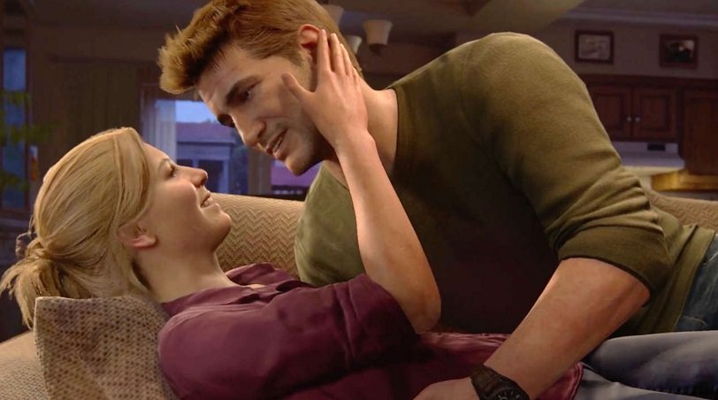 Screen Shot Of Drake And Elena In Uncharted 4