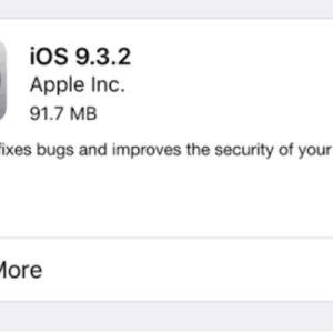 iOS 9.3.2 Image