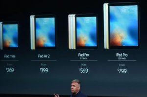 "iPad Pro 9.7"" Price Image"