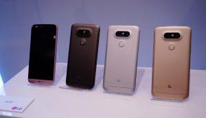LG G5 Colors Images