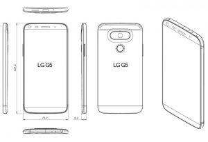 LG G5 Dimension Image