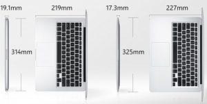 MacBook Air Dimension Image