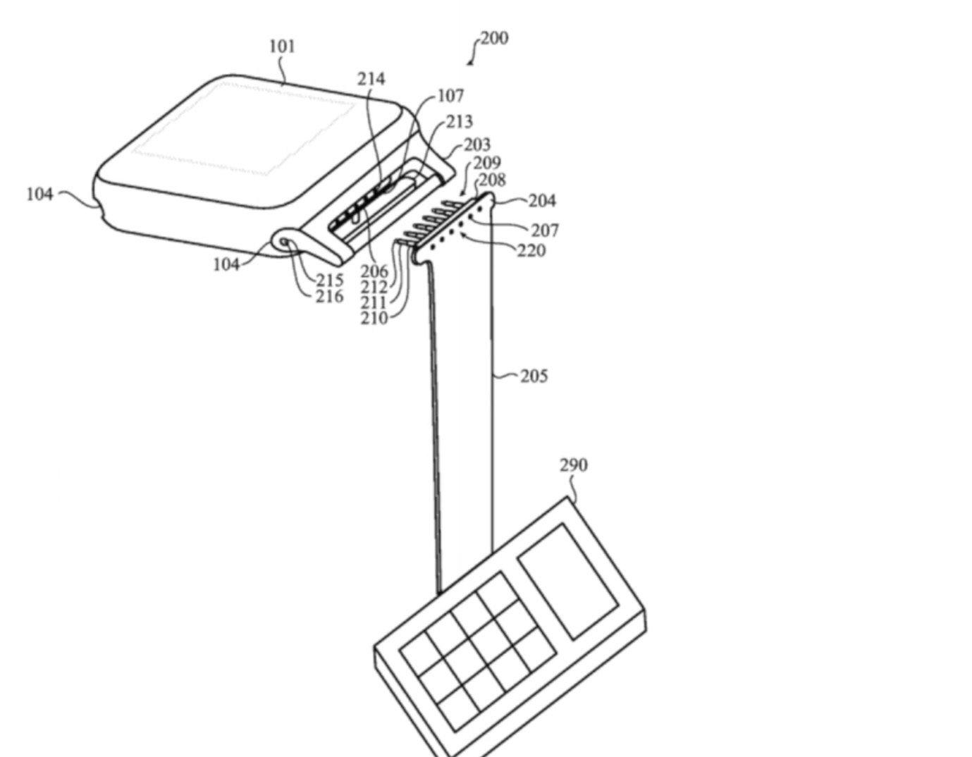 Apple Watch 2 ECG Strap Patent