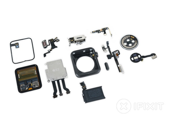 Apple Watch Series 2 Teardown Parts