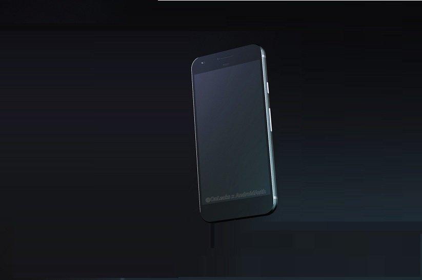 Google Pixel 3D Render Image