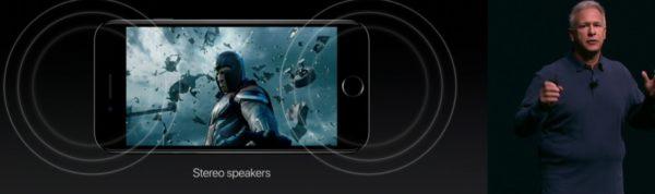 iPhone 7 and 7 Plus Dual Speaker