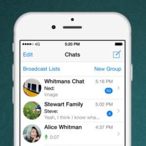 WhatsApp in iOS 10
