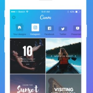 Siri in Canva App