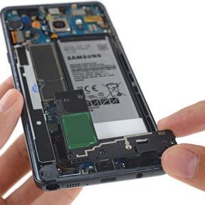 Samsung Galaxy Note 7 Spacing