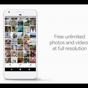 Google Photos App in Pixel