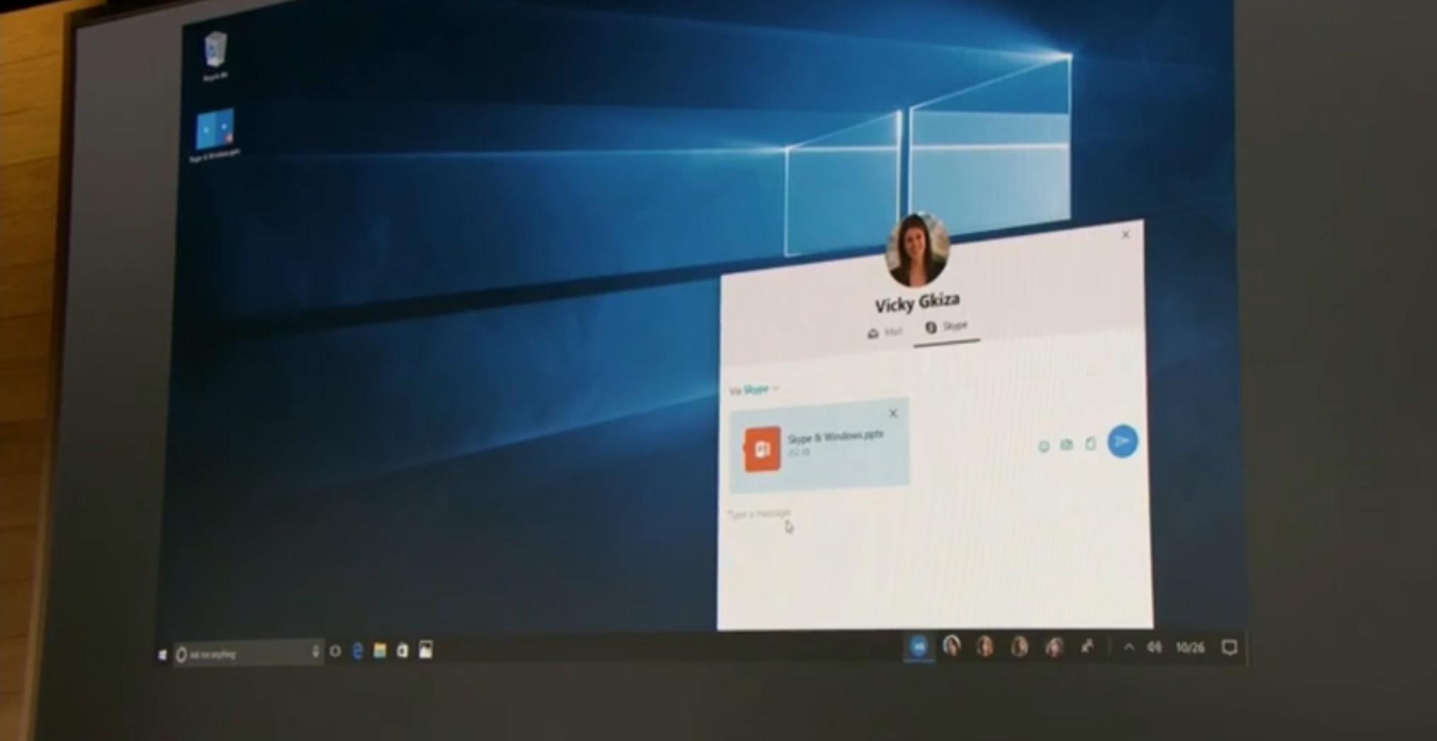 Windows 10 Creators Update People Hub