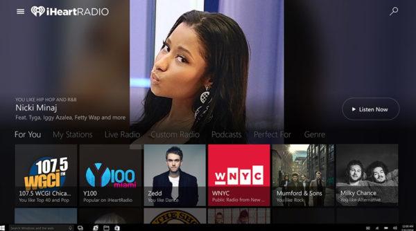 iHeartRadio Windows