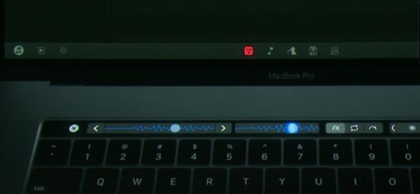 djay Pro App In MacBook Pro TouchBar