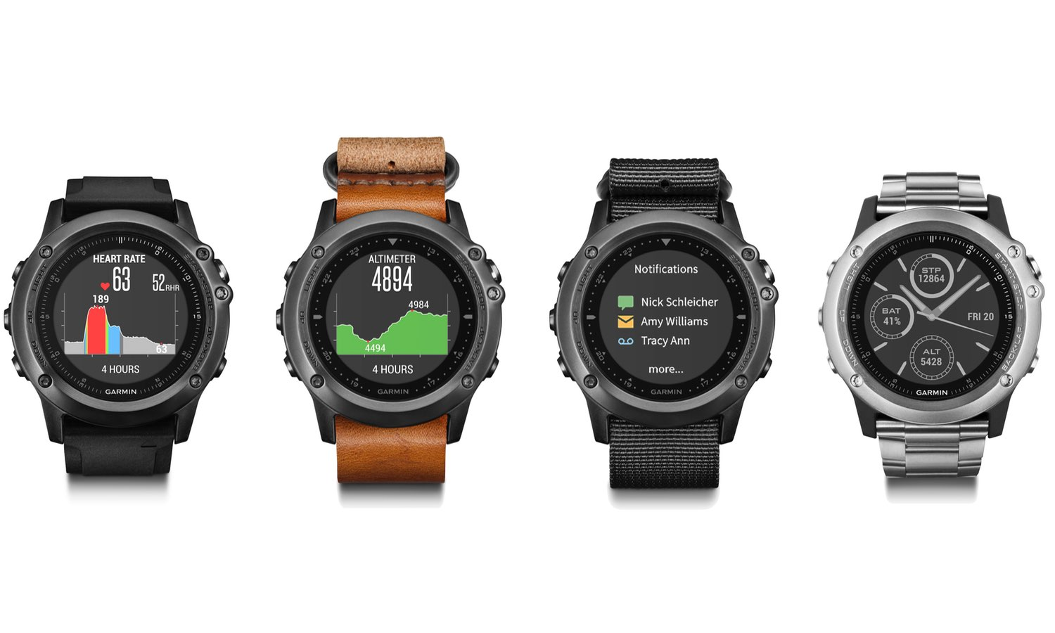 Garmin Fenix 5 At CES 2017