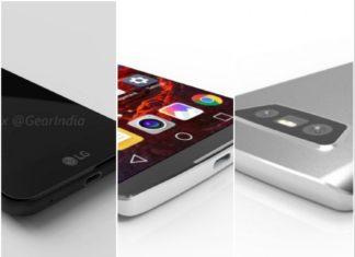 LG G6 Leaks Image Collage
