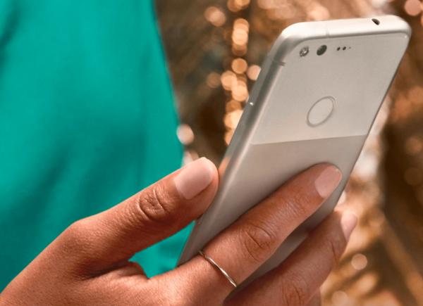 Google Pixel Fingerprint Sensor