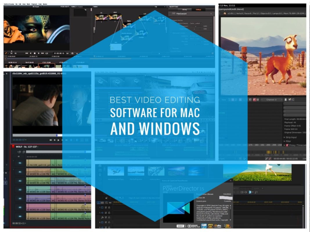 Best Video Editing Software For Mac And Windows