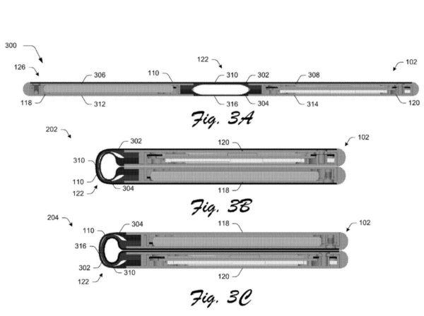 Microsoft Foldable Screen Patent