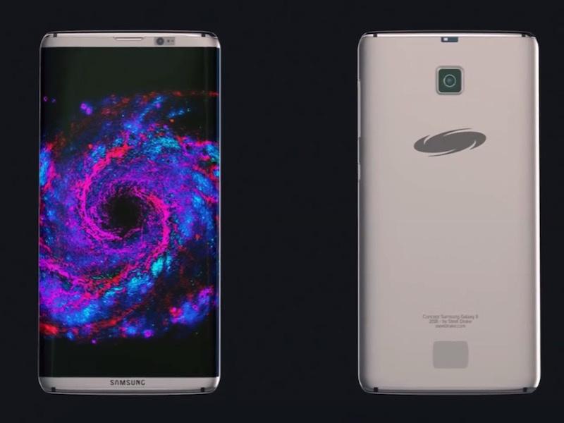 Samsung Galaxy S8 Design Leak