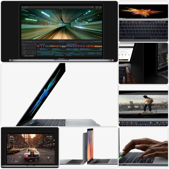 Apple MacBook Pro Collage