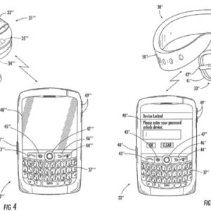 BlackBerry Wearables Patent