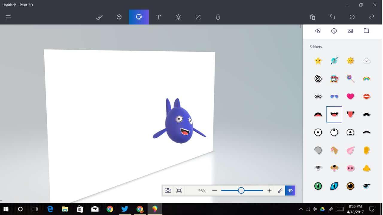 Paint 3D Creators Update