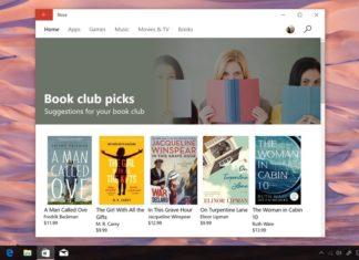 Windows 10 Books Store