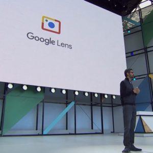 Google Lens a Announcement at Google I/O