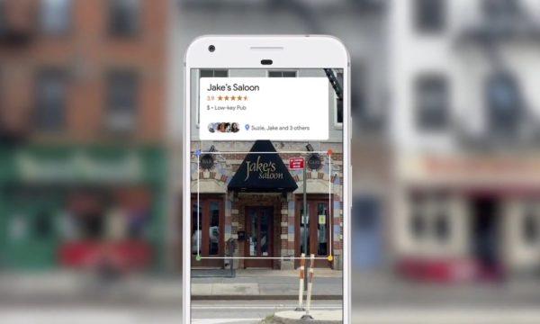 Google Lens Recognition places